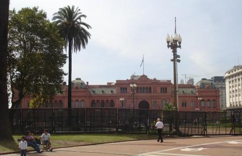 Lugares turisticos en Buenos Aires, Casa Rosada